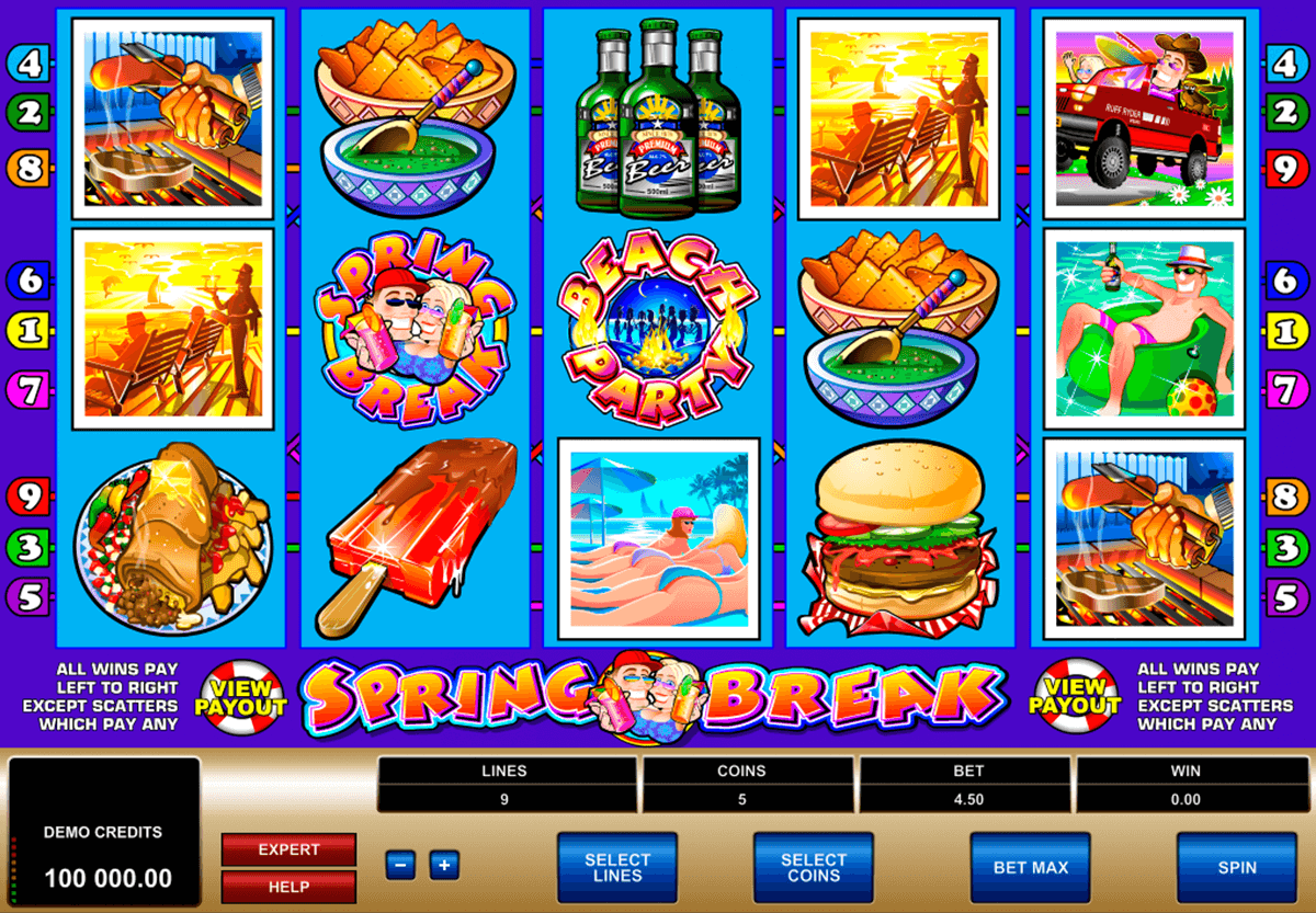 spring break microgaming online spielen