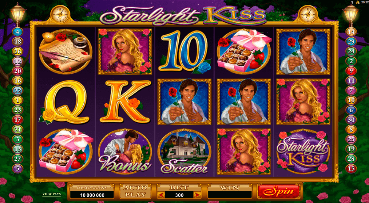 starlight kiss microgaming online spielen