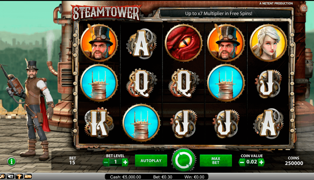 steam tower netent online spielen