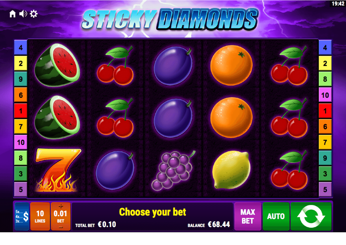 sticky diamonds bally wulff