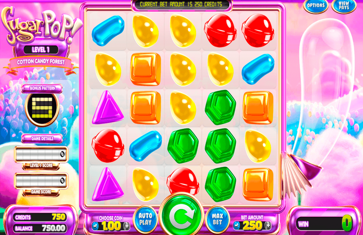 sugar pop betsoft online spielen