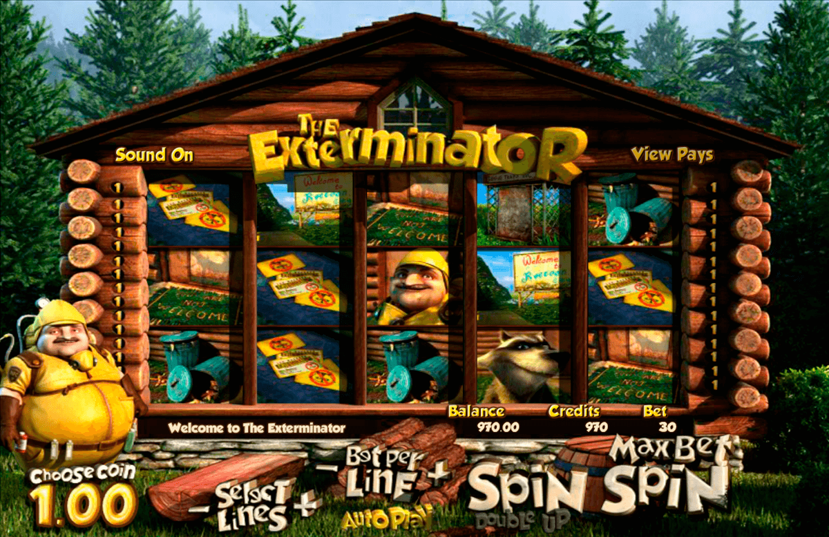 the exterminator betsoft online spielen