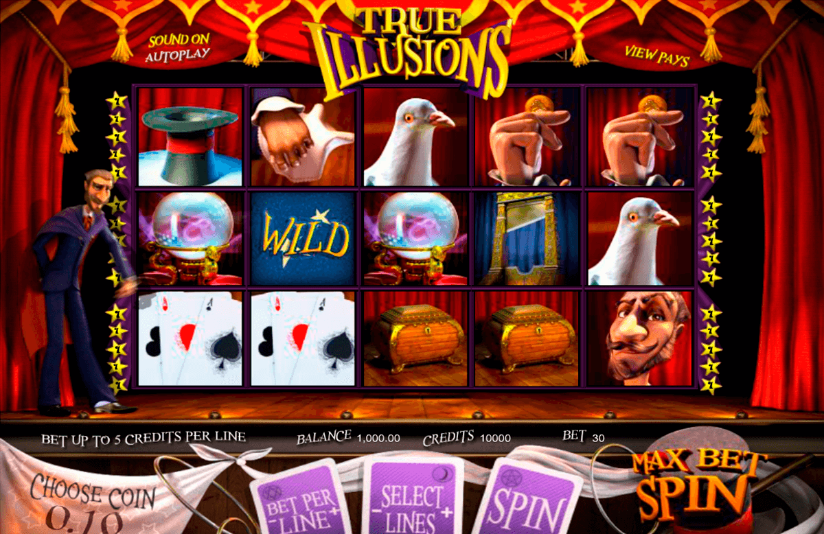true illusions betsoft online spielen