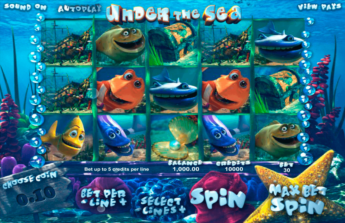 under the sea betsoft online spielen
