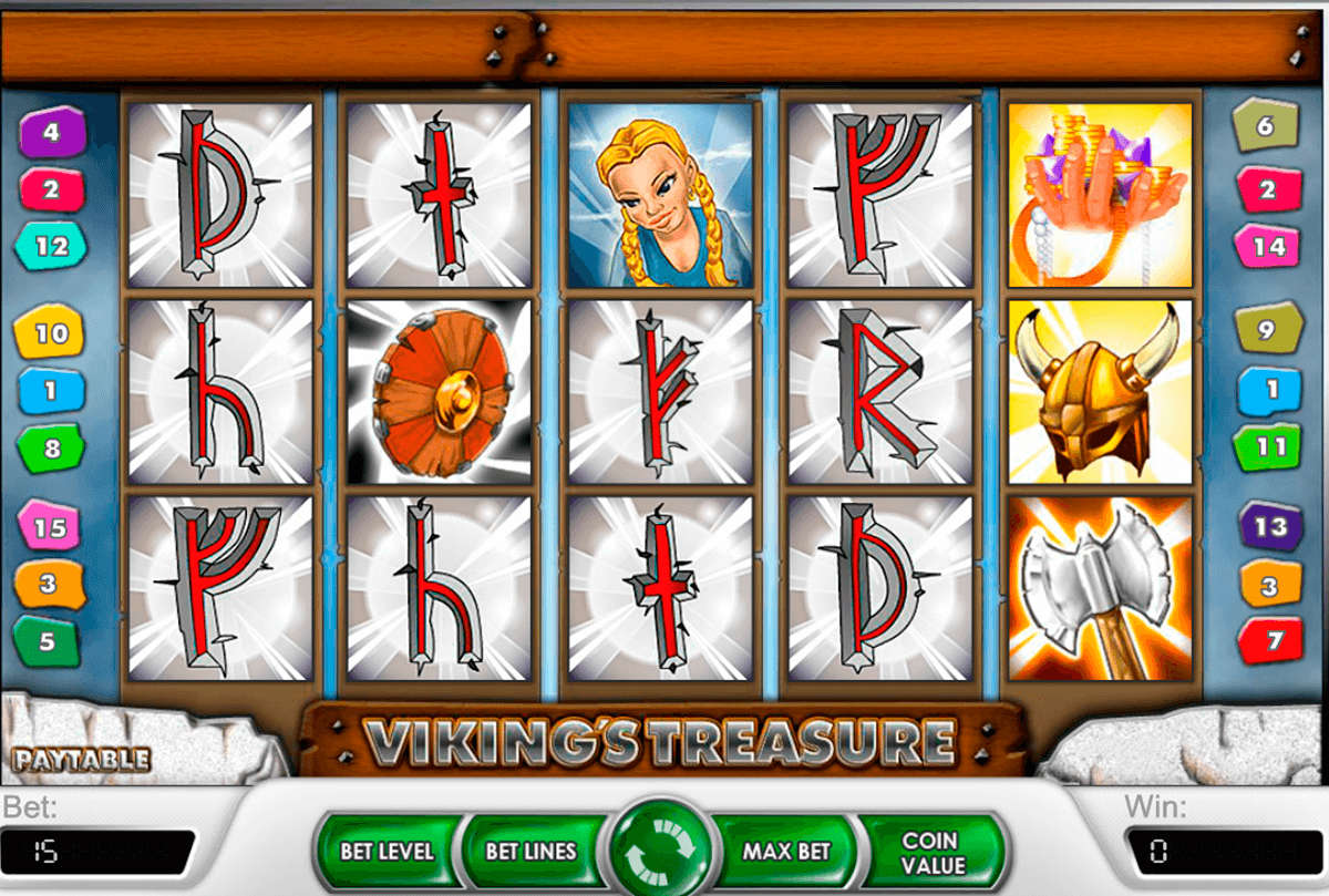 vikings treasure netent online spielen