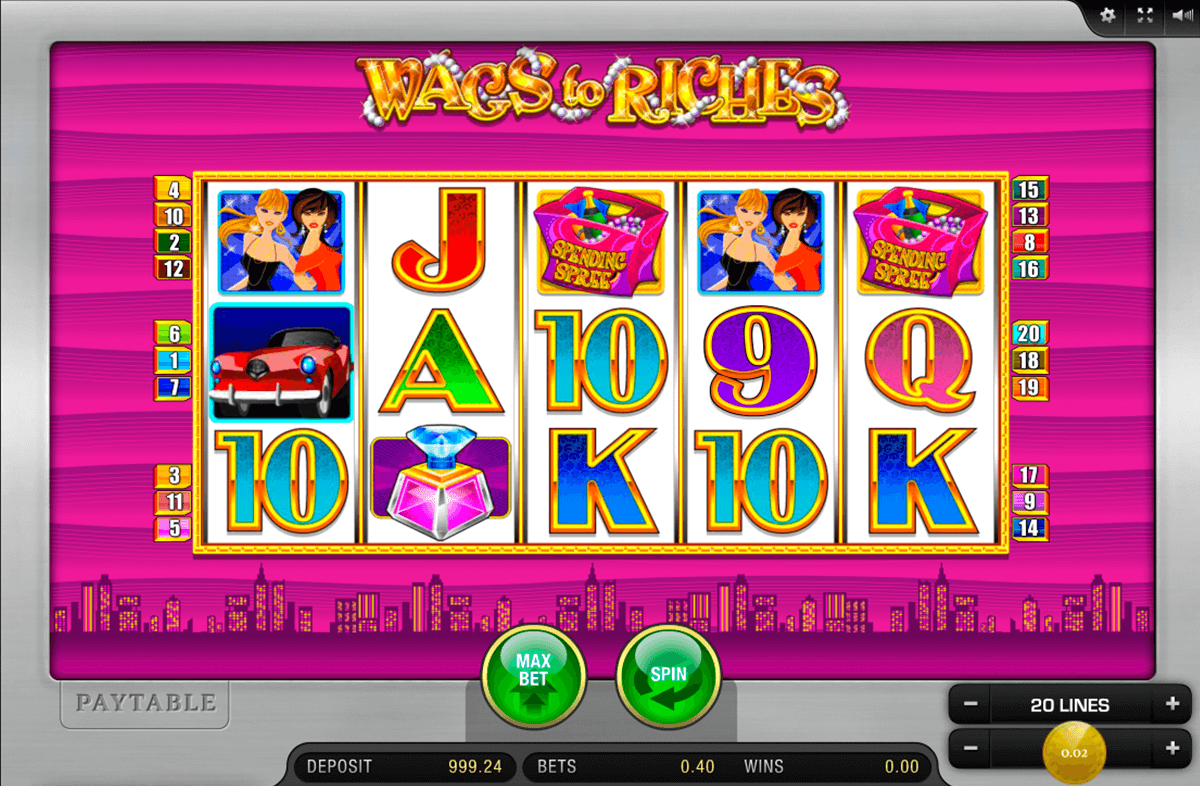 wags to riches merkur online spielen