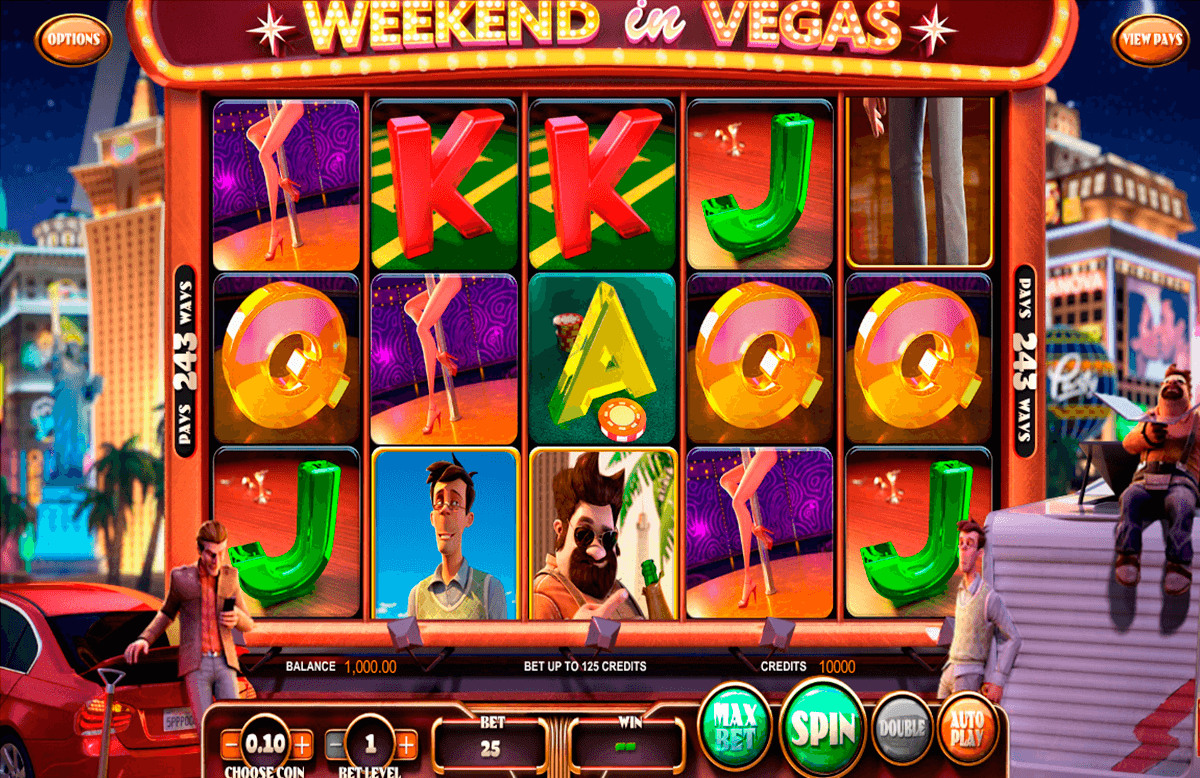 weekend in vegas betsoft online spielen