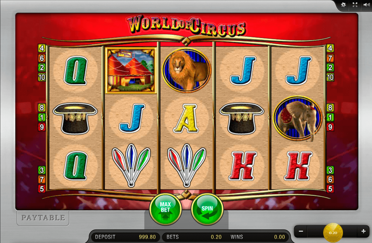 world of circus merkur online spielen