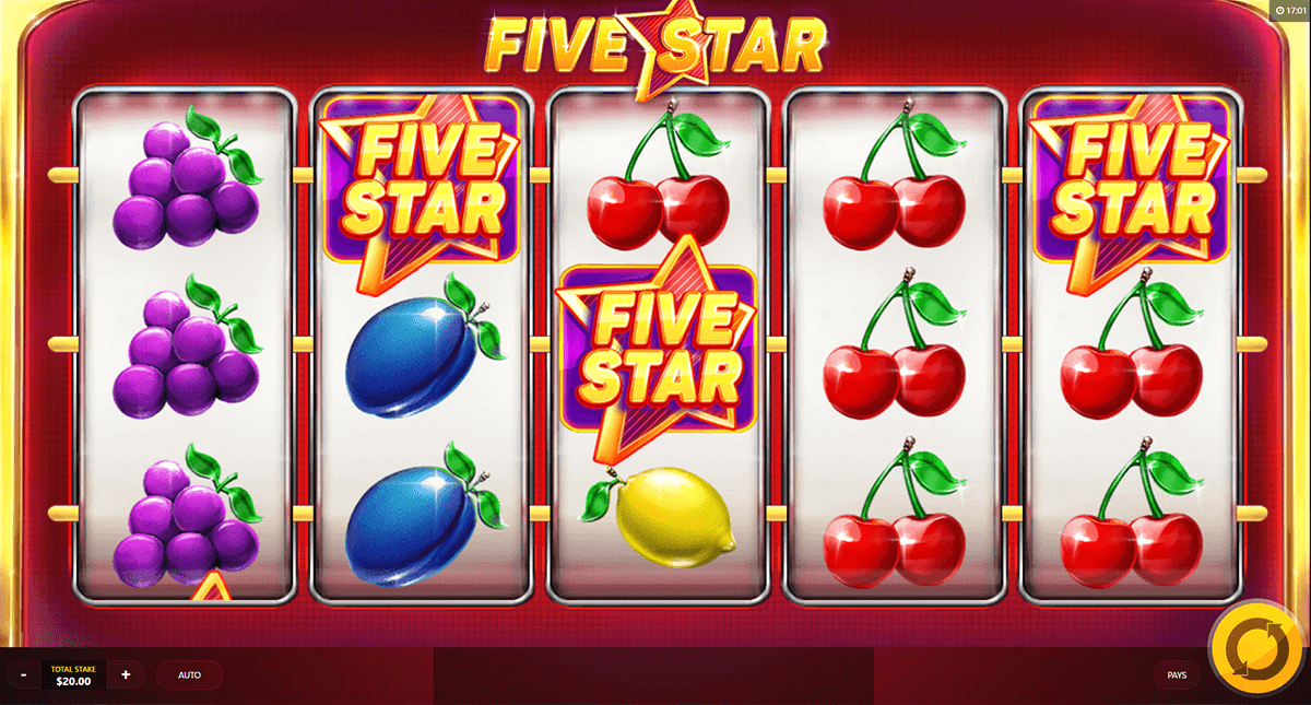 five star red tiger