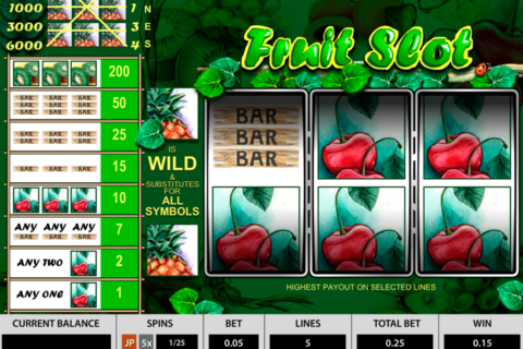fruit slot 3 reels pragmatic