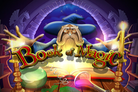 logo book of magic wazdan