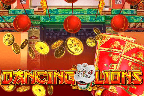 logo dancing lion gameart