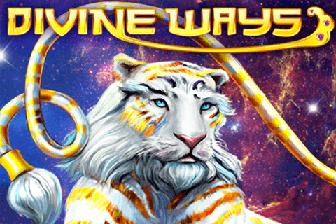logo divine ways red tiger