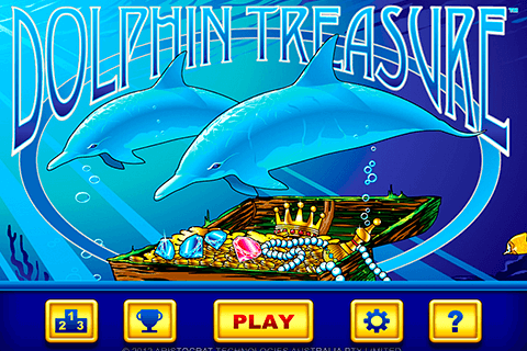 logo dolphin treasure aristocrat