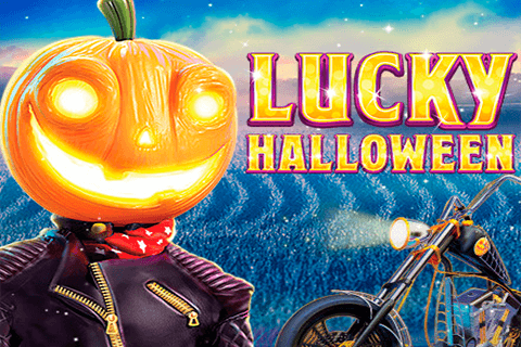 logo lucky halloween red tiger