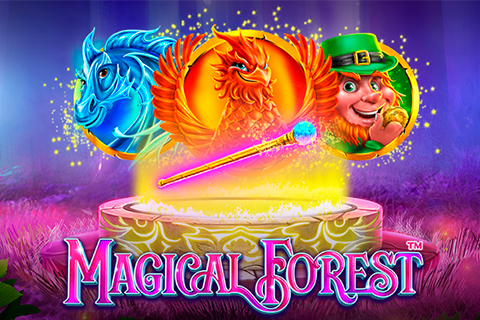 logo magical forest stake logic