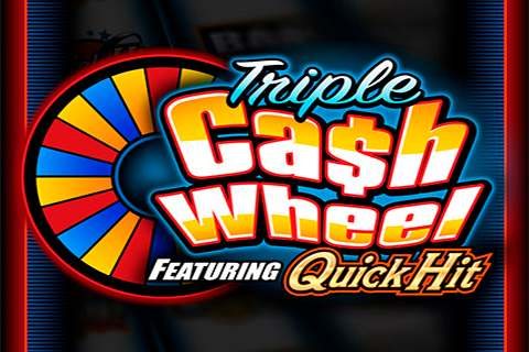 logo triple cash wheel bally