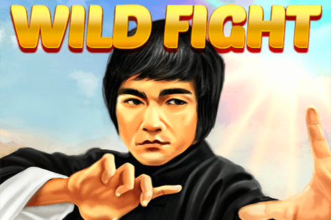 logo wild fight red tiger