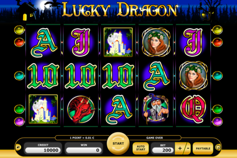 lucky dragon kajot