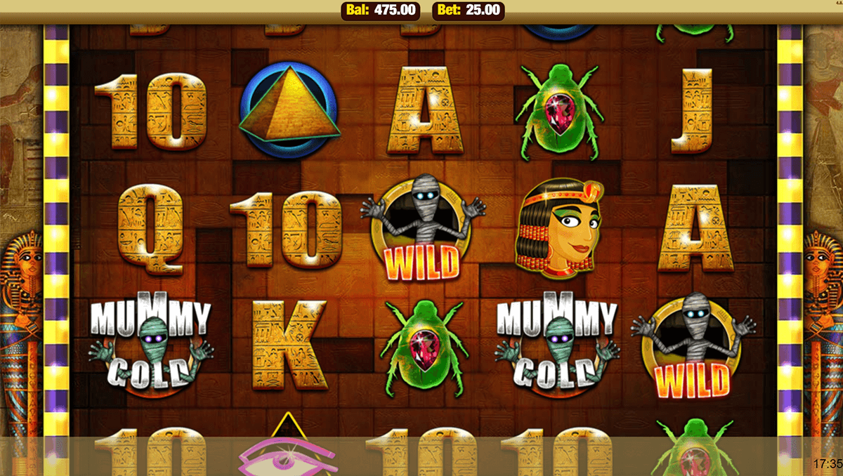 mummy gold nektan