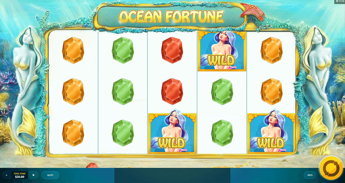 ocean fortune red tiger