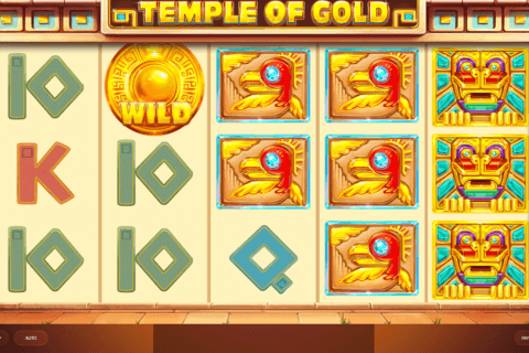 temple of gold red tiger