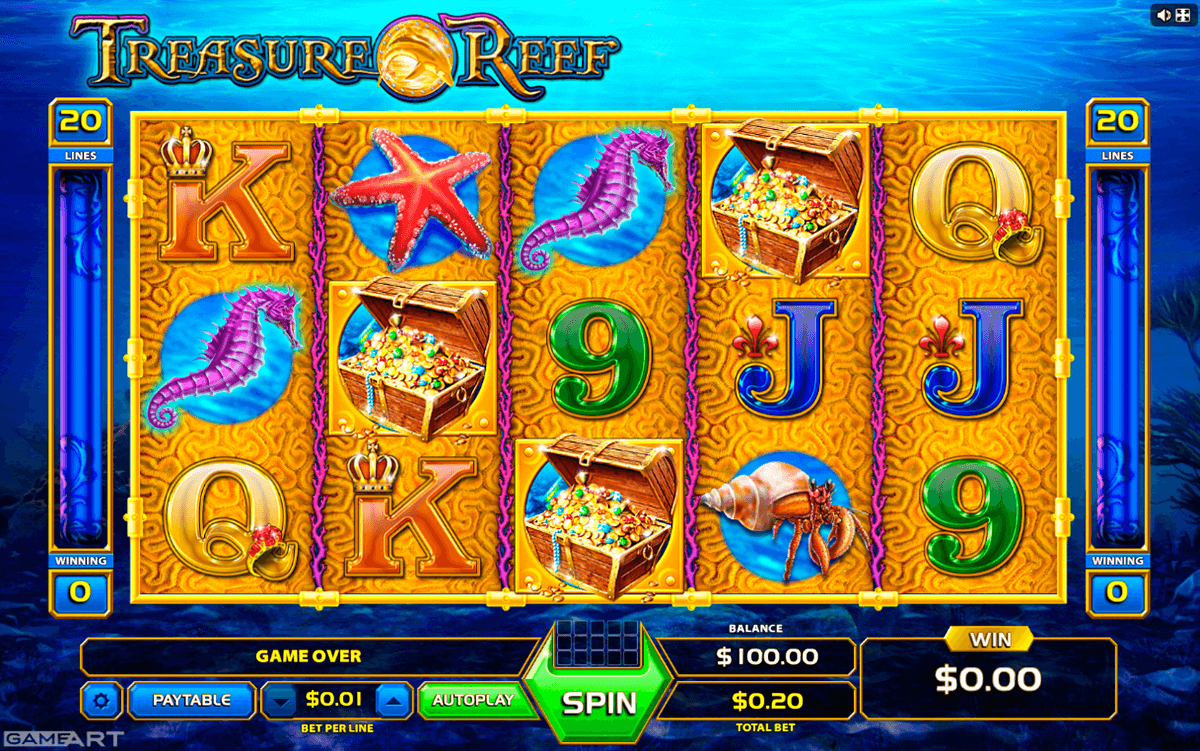 Spiele Cash Reef - Video Slots Online